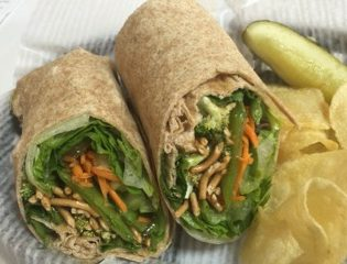 Asian Veggie Wrap