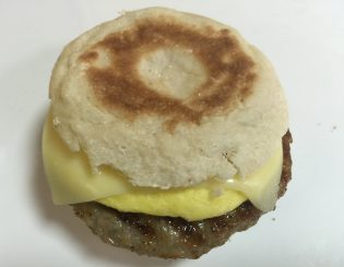 Sausage, egg & cheese muffin
