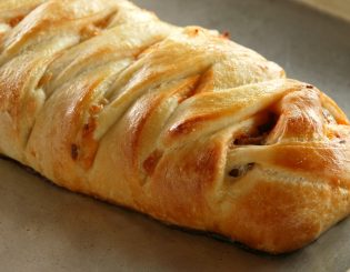 pepperoni & cheese braided bread