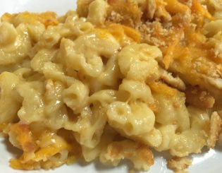 southern baked mac & cheese