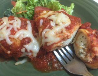 stuffed shells marinara
