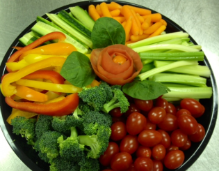 veggie tray small