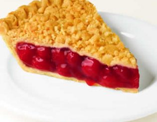 cherry krunch pie